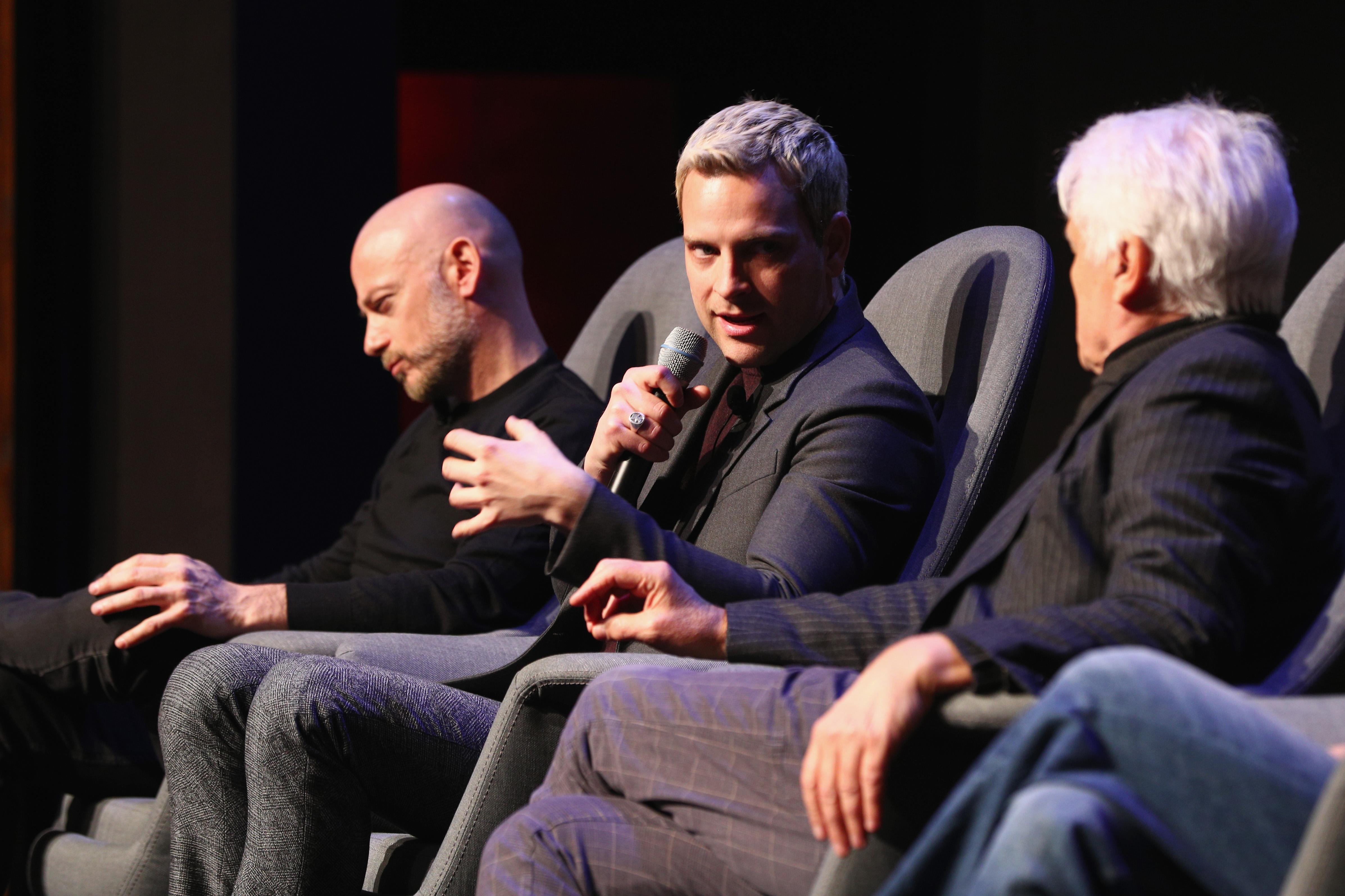 Suburra: una foto di Filippo Nigro, Alessandro Borghi e Michele Placido