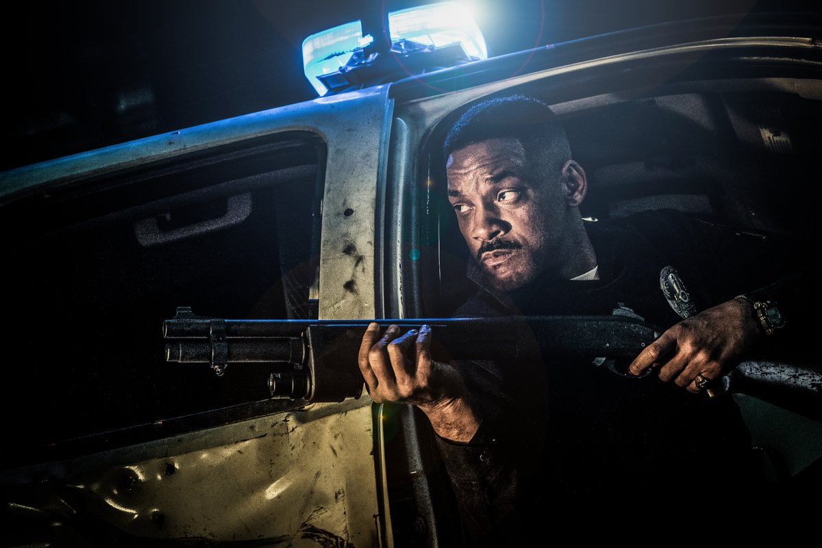 Bright: Will Smith in una foto del film