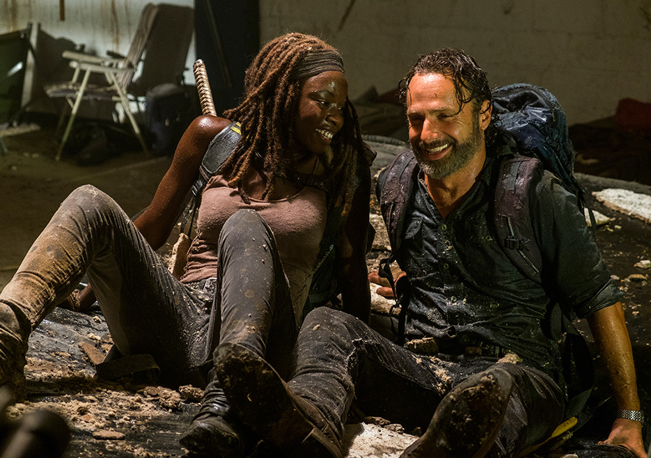 The Walking Dead: Rick e Michonne in Say Yes