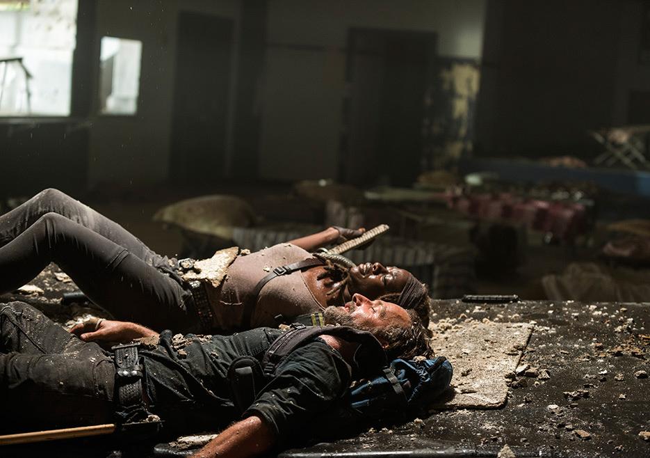 The Walking Dead: Danai Gurira e Andrew Lincoln nella puntata Say Yes