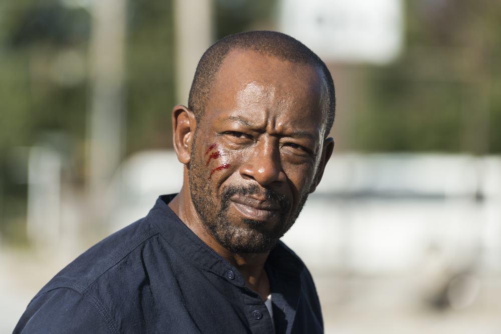 The Walking Dead: Lennie James interpreta Morgan in Bury Me Here