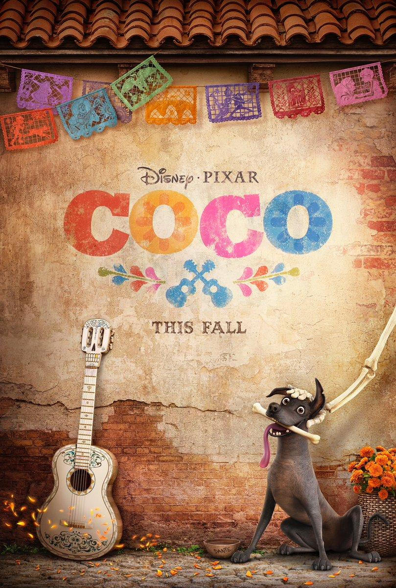 Coco: il teaser poster del film