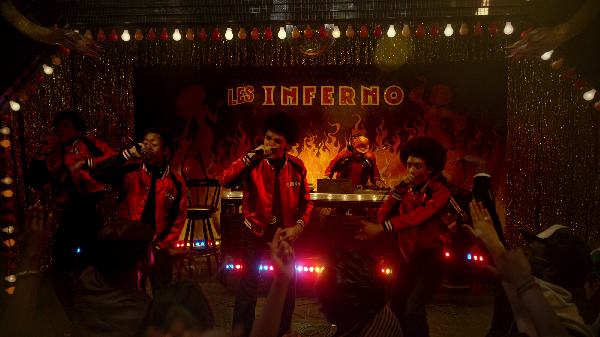 The Get Down - Part II: una foto di Jaden Smith, Skylan Brooks, Shameik Moore, Justice Smith, e Tremaine Brown Jr.
