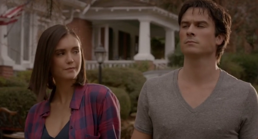 The Vampire Diaries: Nina Dobrev e Ian Somerhalder nell'ultimo episodio