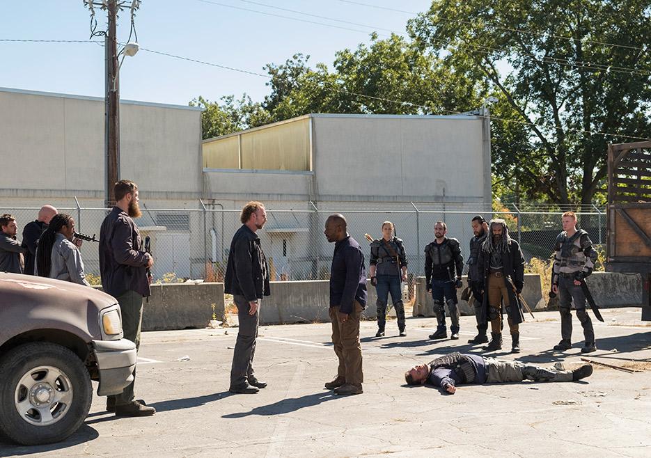 The Walking Dead: l'attore Lennie James nella puntata Bury Me Here