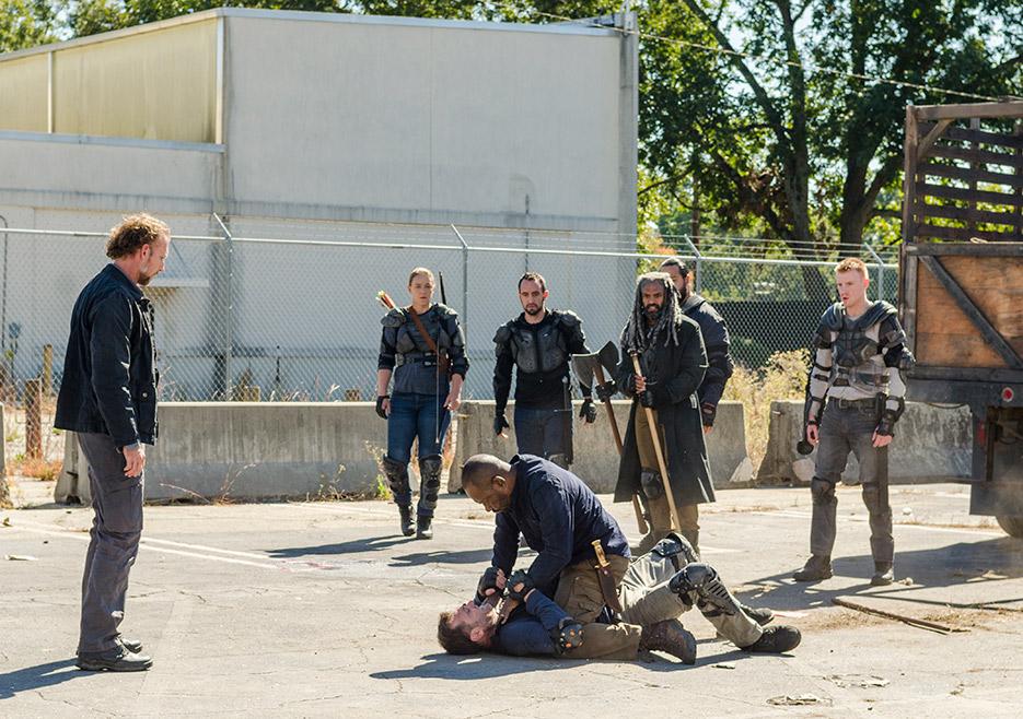 The Walking Dead: un'immagine della puntata Bury Me Here