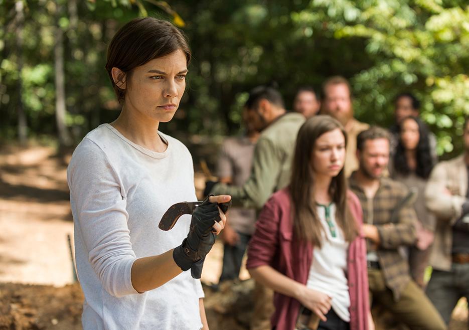 The Walking Dead: Lauren Cohan in una foto di The Other Side