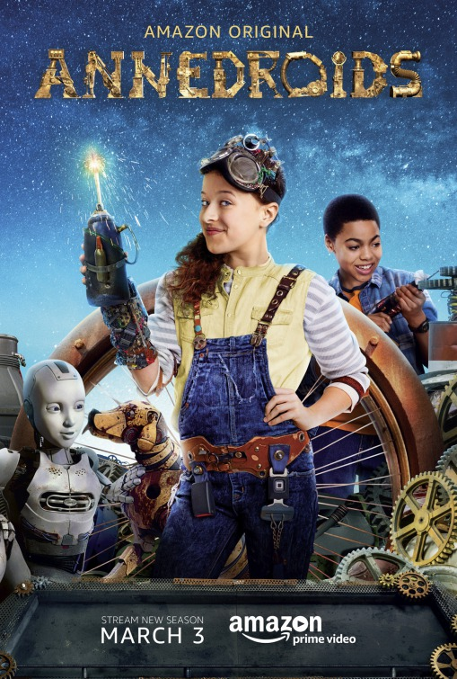 Annedroids: un poster per la serie