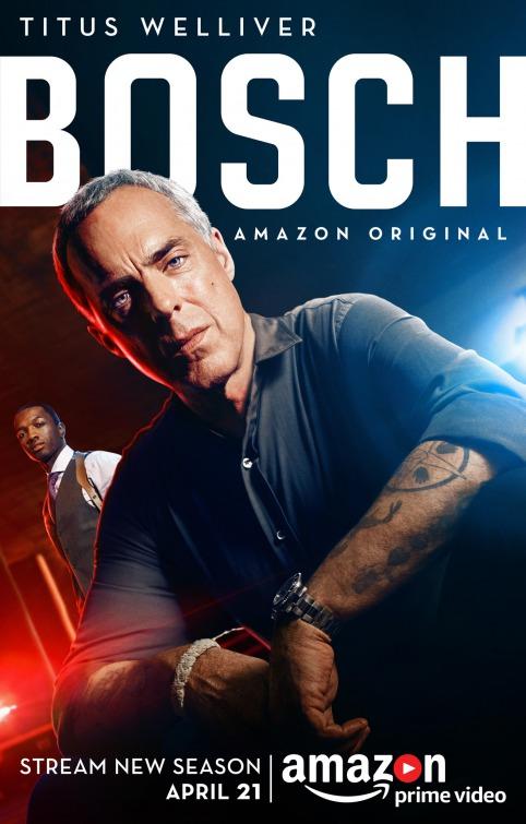 Bosch: il poster della nuova stagione della serie