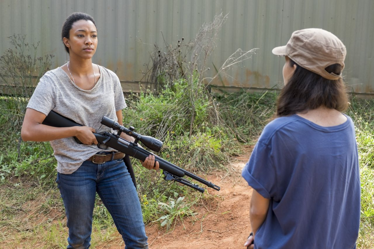 The Walking Dead: Sonequa Martin in una foto di The Other Side
