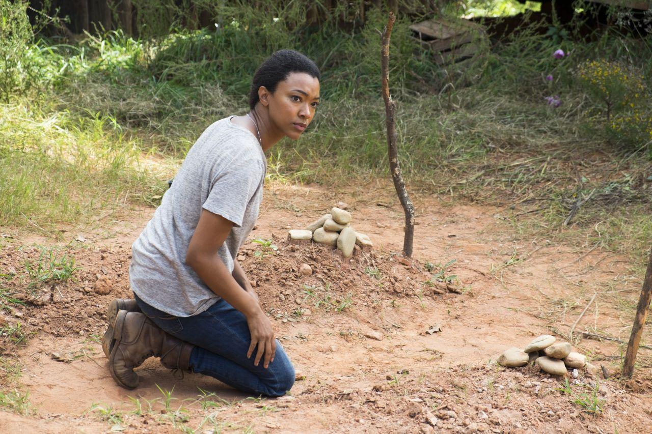 The Walking Dead: l'attrice Sonequa Martin è Sasha in The Other Side