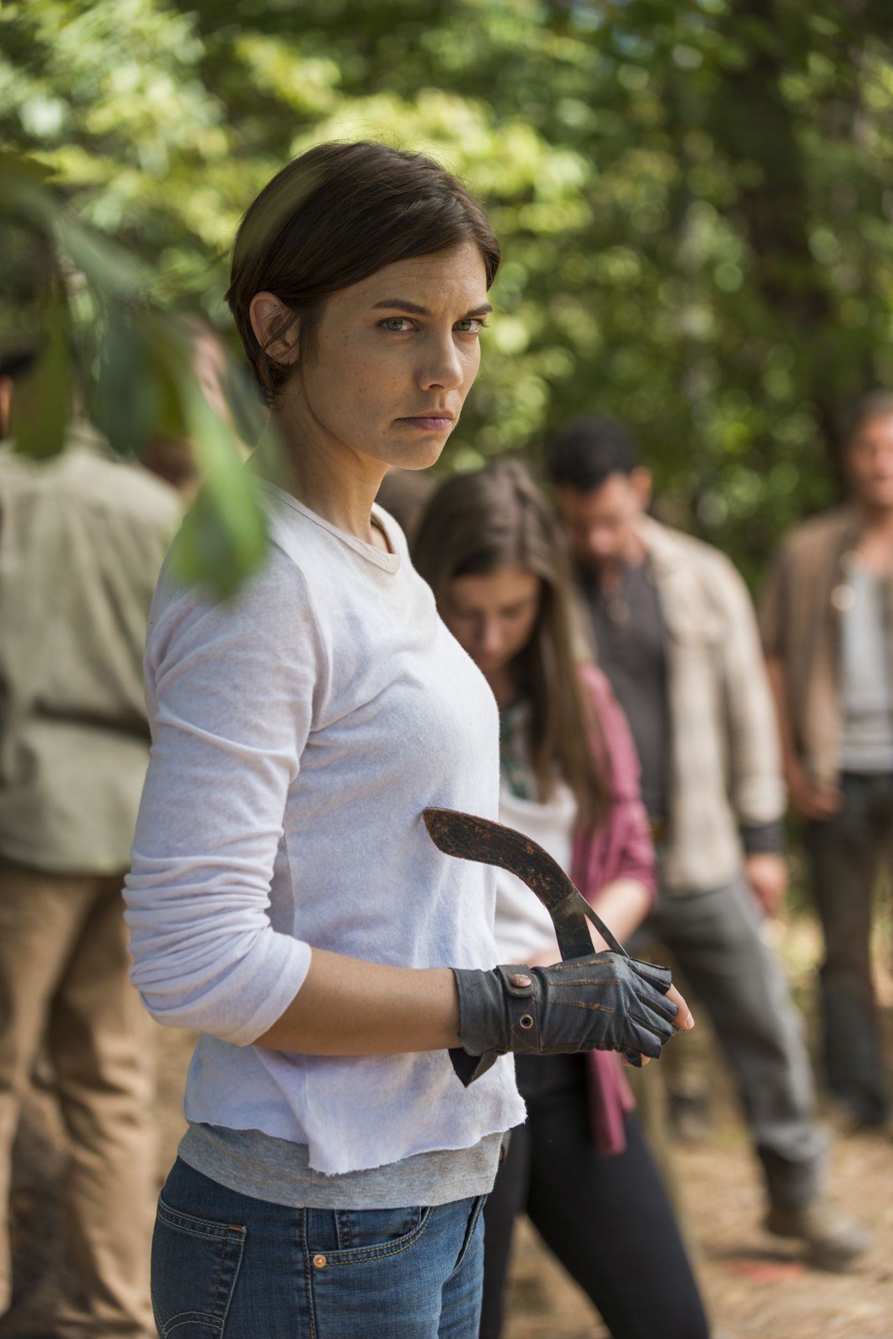 The Walking Dead: Lauren Cohan è Maggie in The Other Side