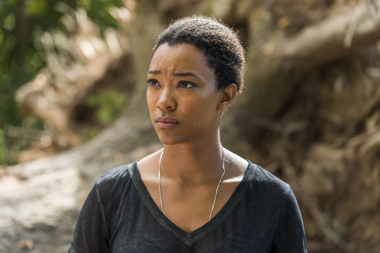 The Walking Dead: l'attrice Sonequa Martin in The Other Side