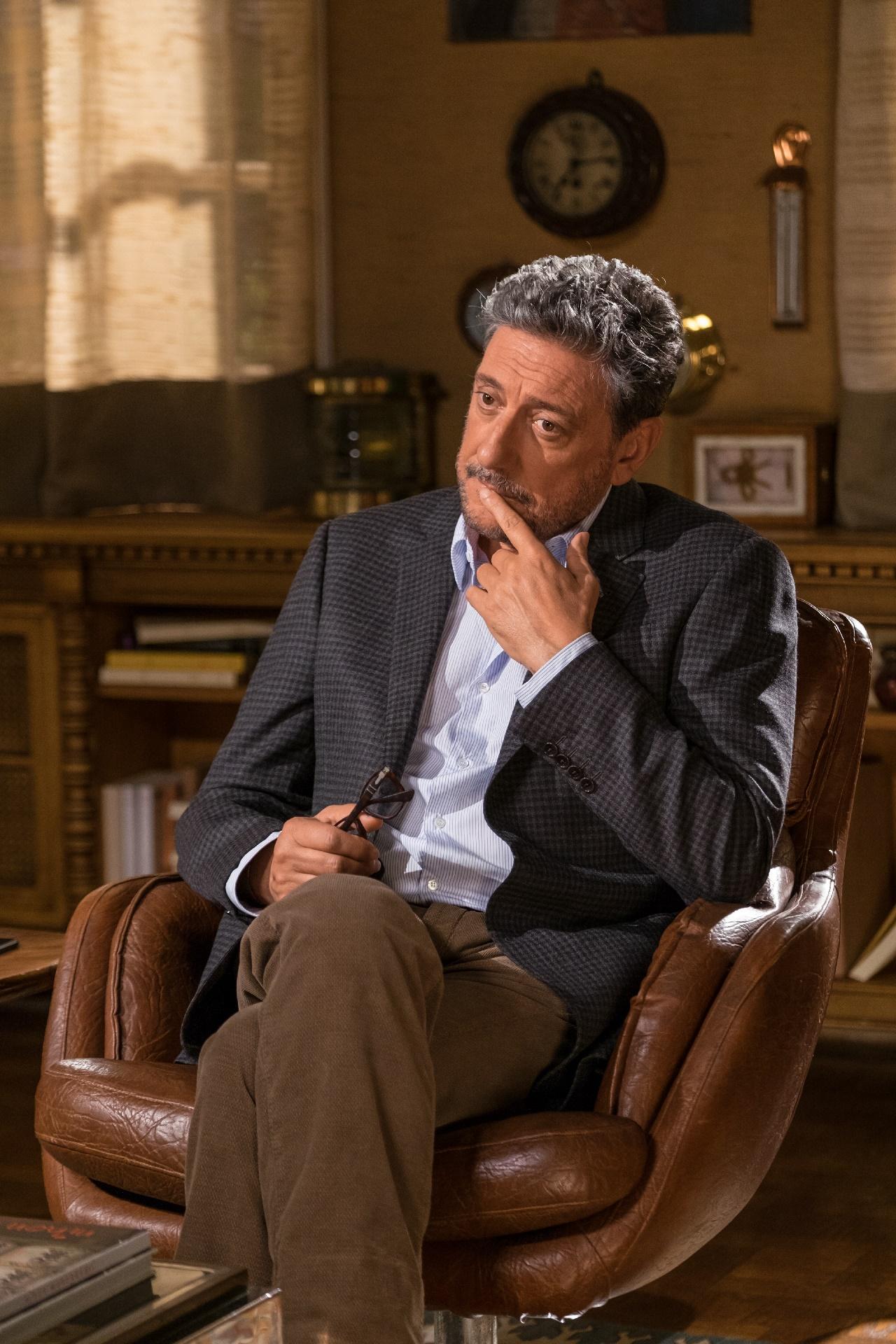 In Treatment: una foto del protagonista Sergio Castellitto