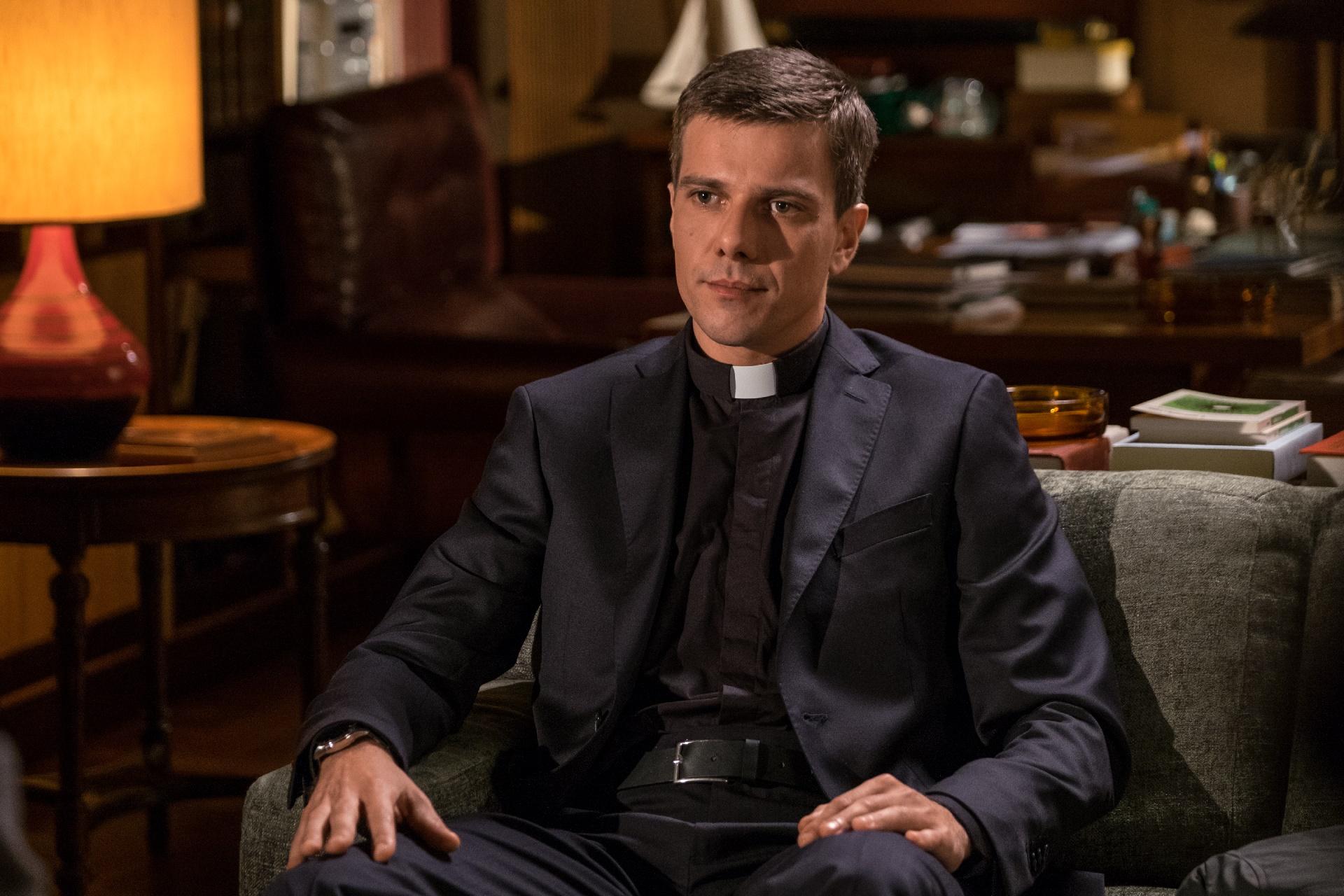 In Treatment: l'attore Domenico Diele in una foto della serie