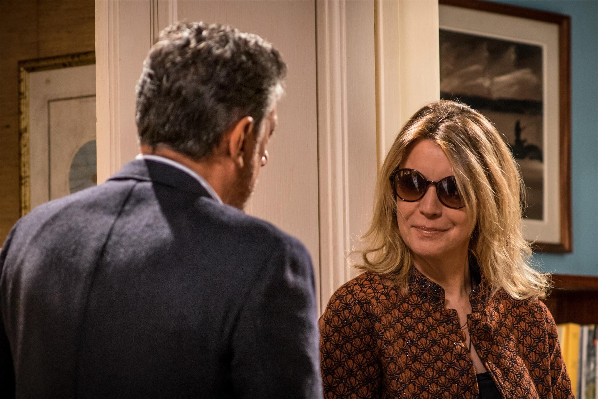 In Treatment: Sergio Castellito e Margherita Buy in una foto della serie