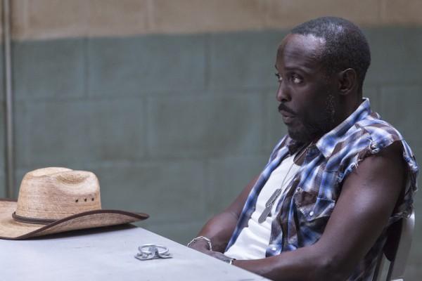 Hap and Leonard: l'attore Michael Kenneth Williams in una foto della seconda stagione