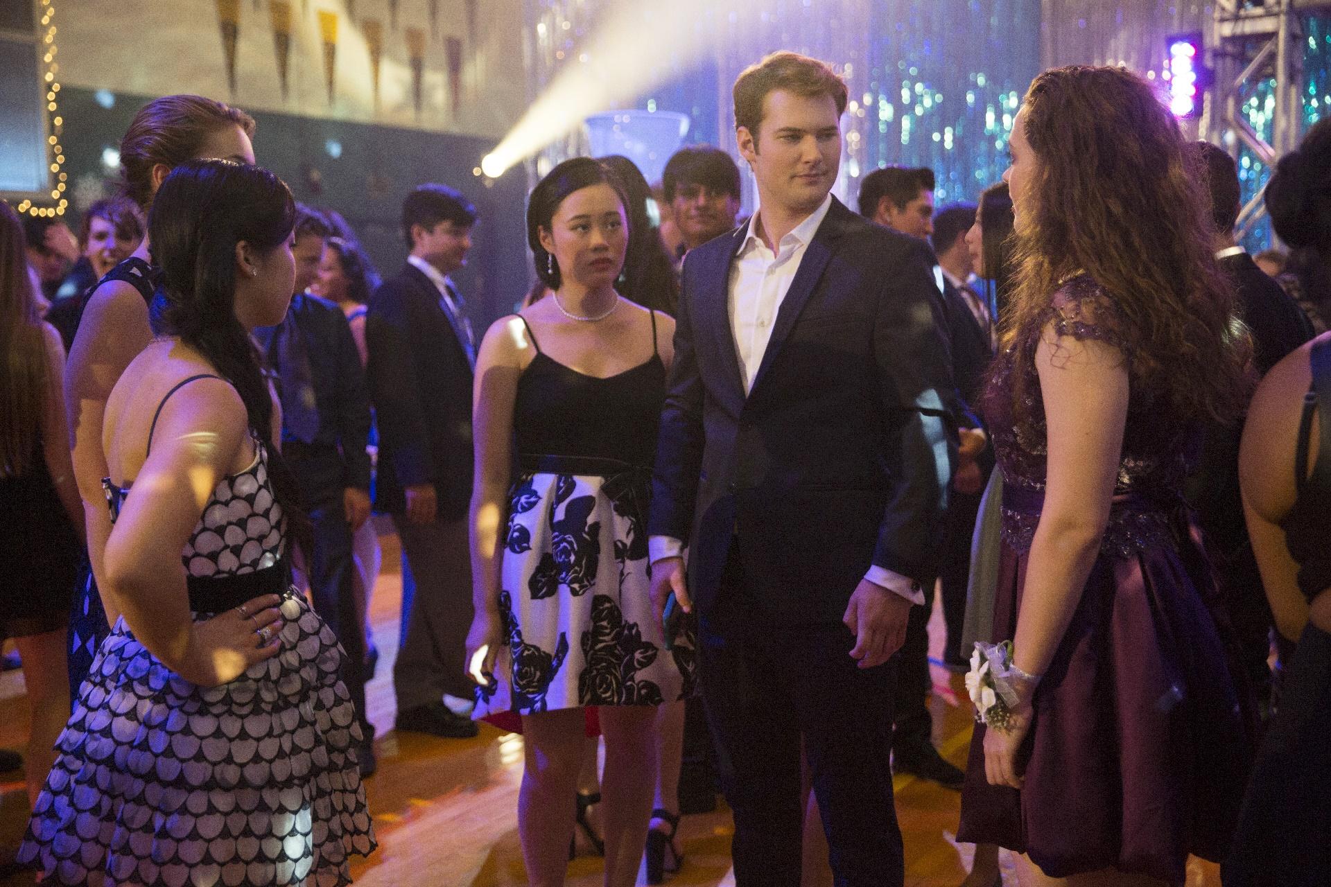 Tredici: Michele Selene Ang e Justin Prentice in una foto della serie