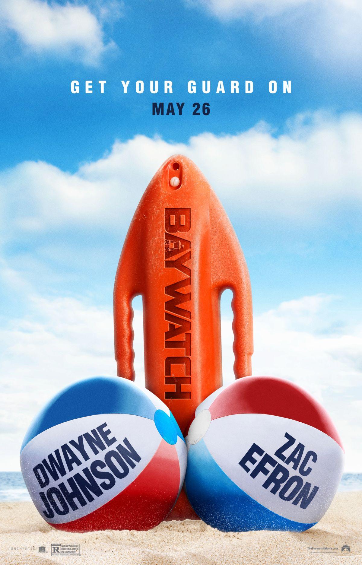 Baywatch: sottili metafore nella nuova locandina