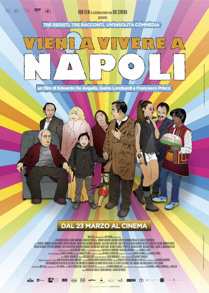 Locandina di Vieni a vivere a Napoli