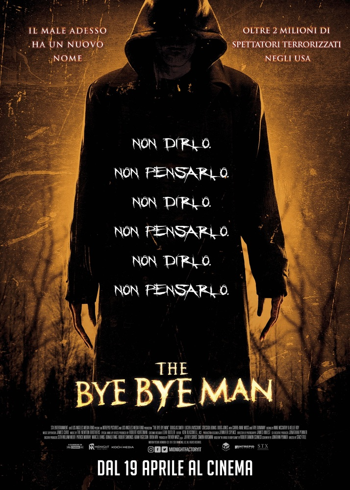 Locandina di The Bye Bye Man