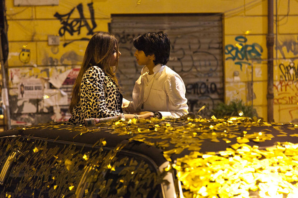 Vieni a vivere a Napoli: una scena del film
