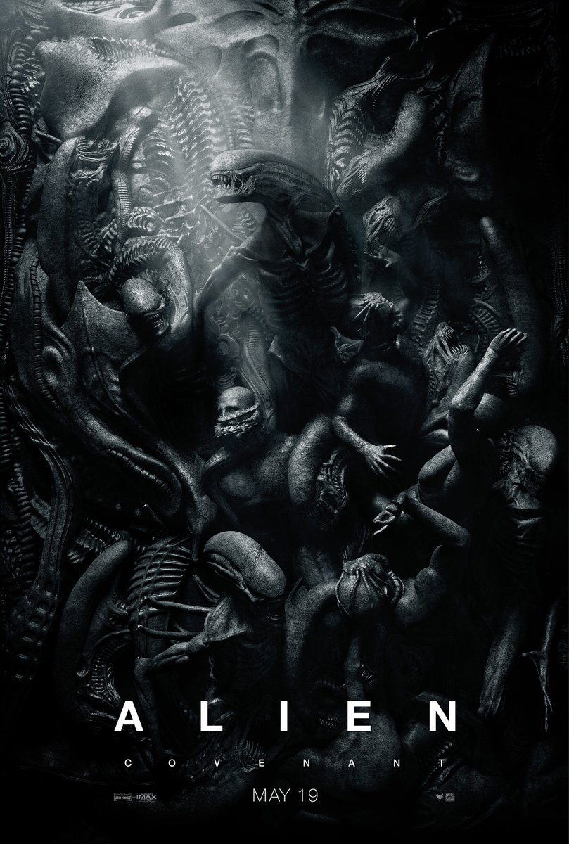 Alien: Covenant, un poster del film