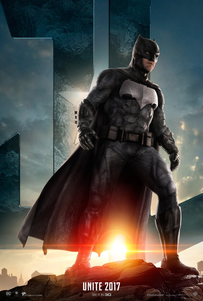 Justice League: il character poster di Batman