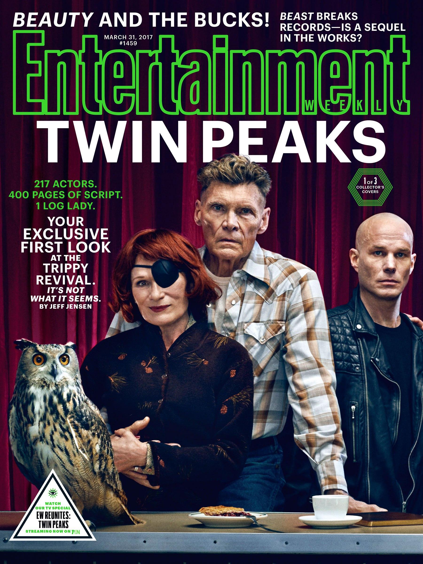 Twin Peaks: una delle tre copertine di EW