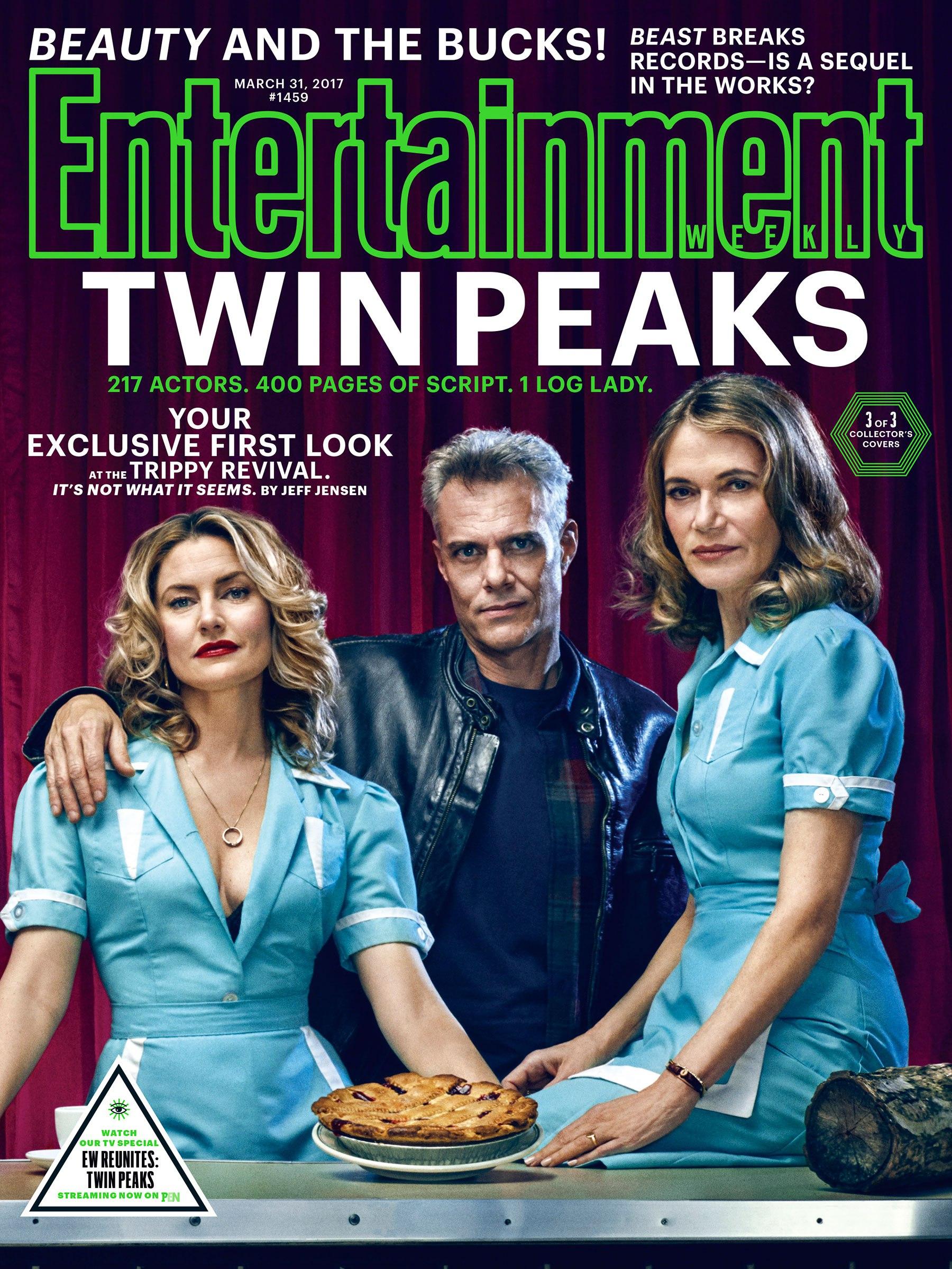 Twin Peaks: una delle copertine di Entertainment Weekly