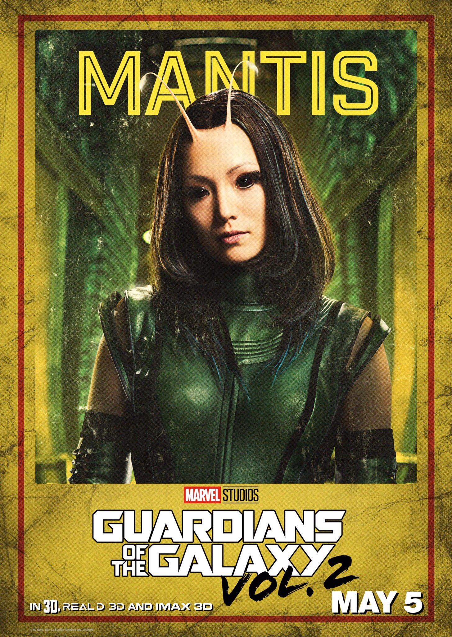 Guardiani della Galassia Vol. 2: il character poster di Mantis
