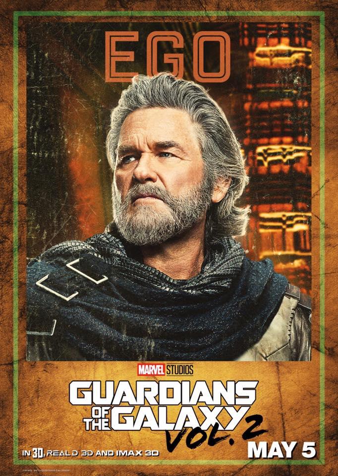 Guardiani della Galassia Vol. 2: il character poster di Ego