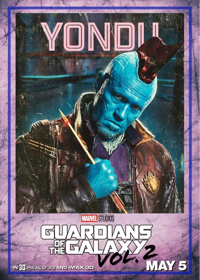 Guardiani della Galassia Vol. 2: il character poster di Yondu