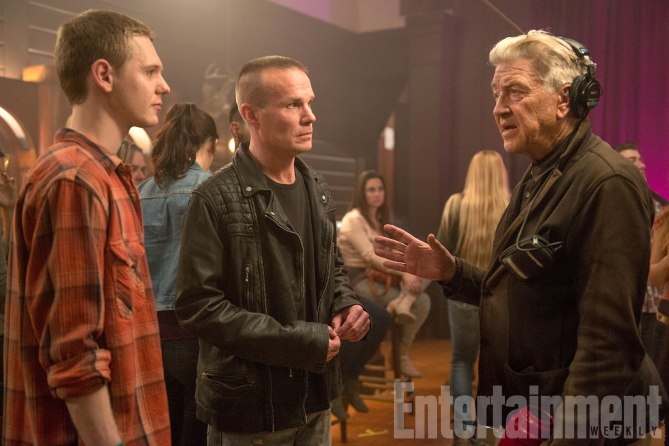 Twin Peaks:Jake Wardle, James Marshall e David Lynch sul set