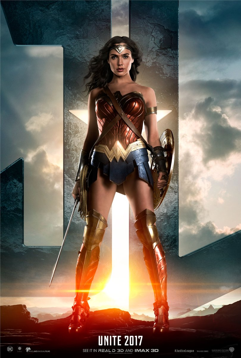 Justice League: il teaser poster di Wonder Woman