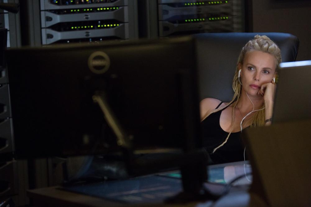 Fast & Furious 8: Charlize Theron in una scena del film