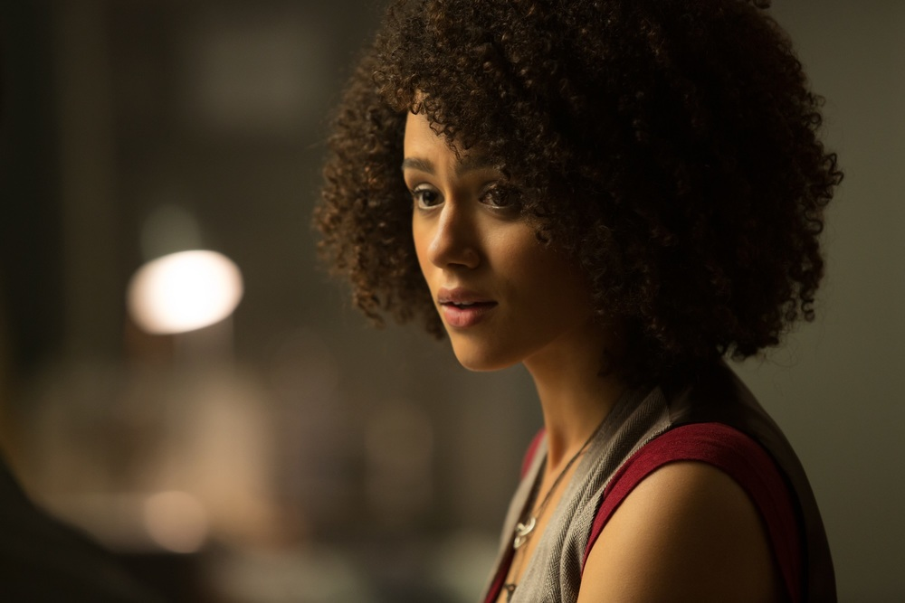 Fast & Furious 8: Nathalie Emmanuel in una scena del film