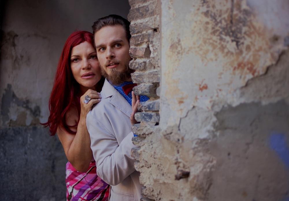 La parrucchiera: Cristina Donadio e Arturo Muselli in una scena del film