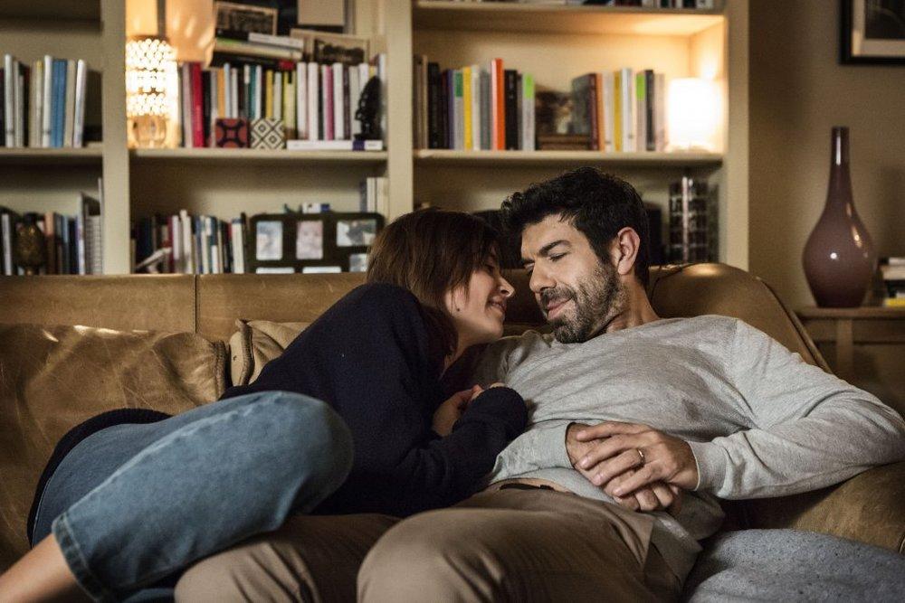 Moglie e marito: Pierfrancesco Favino e Kasia Smutniak in una scena del film