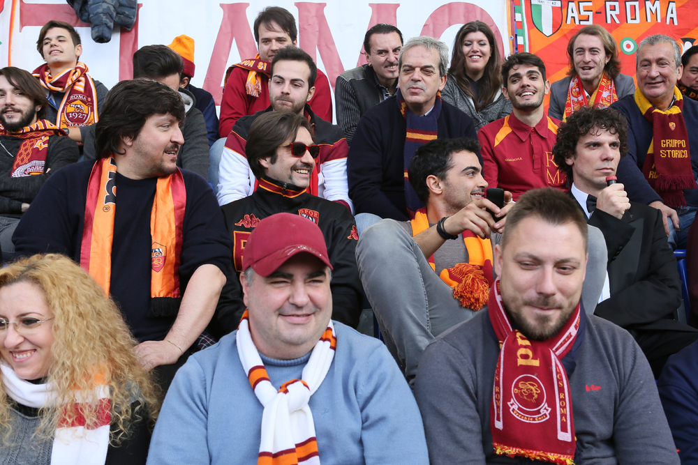 Ovunque tu sarai: Ricky Memphis, Francesco Montanari, Francesco Apolloni e Primo Reggiani in una scena del film