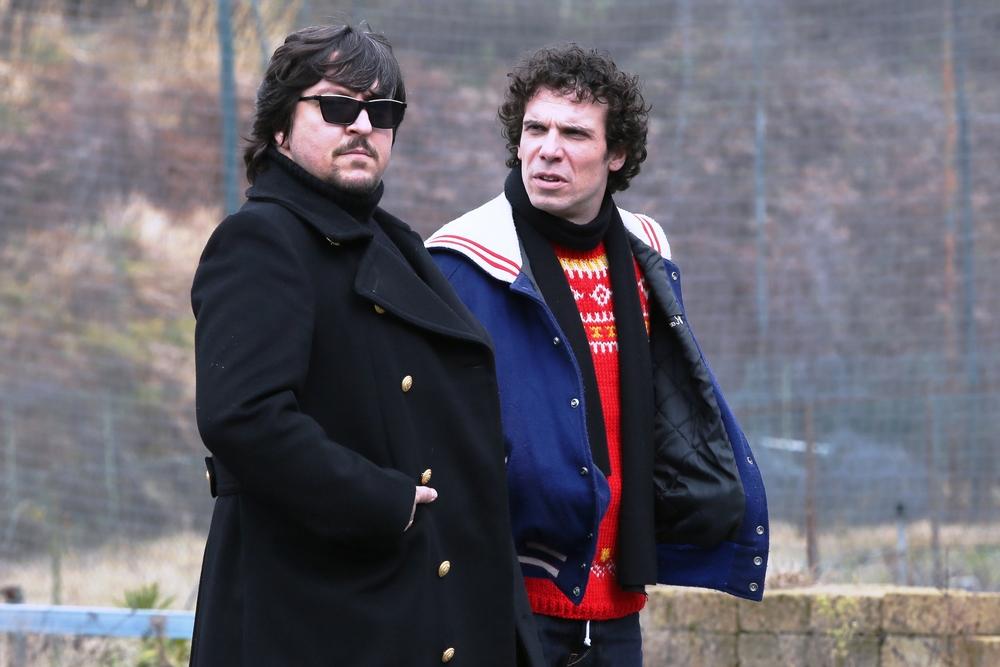 Ovunque tu sarai: Ricky Memphis e Francesco Montanari in una scena del film