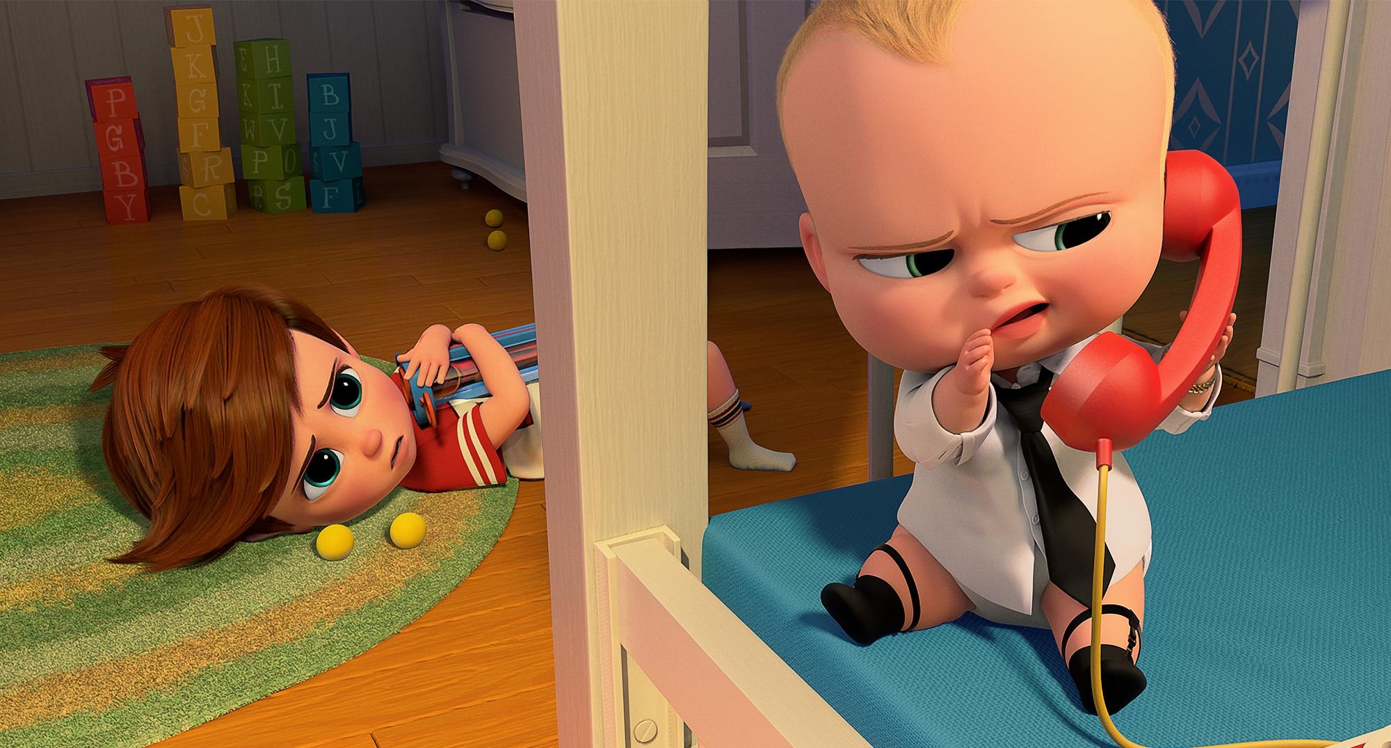 Baby Boss: un'immagine tratta dal film d'animazione