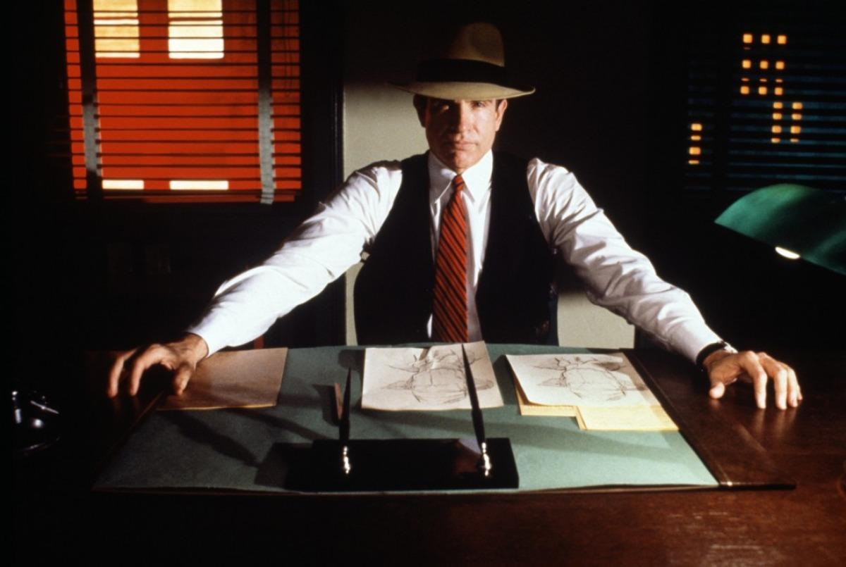 Dick Tracy: Warren Beatty in un'immagine del film