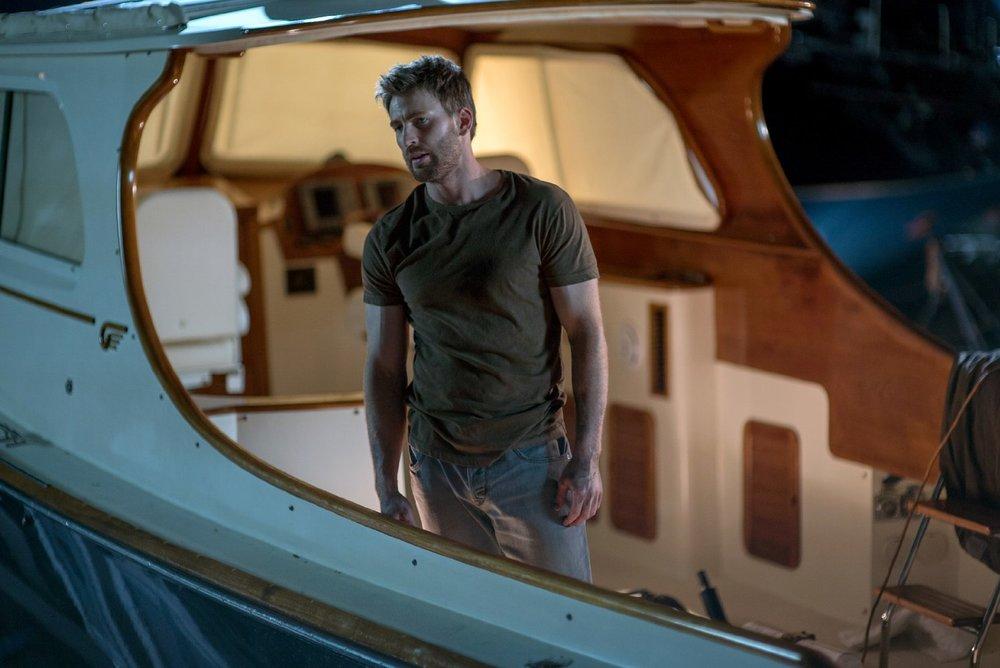 Gifted - Il dono del talento: Chris Evans in una scena del film