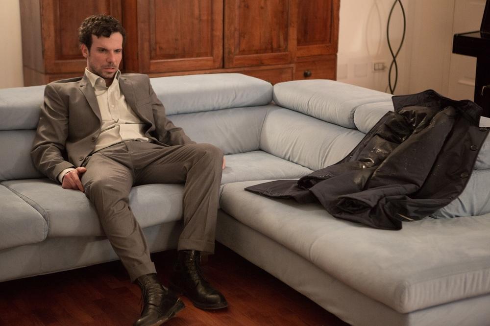 Le verità: Francesco Montanari in una scena del film