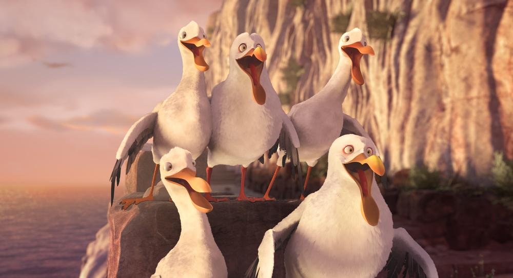Richard the Stork: un'immagine del film d'animazione