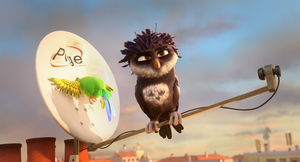 Richard the Stork: un'immagine del film animato