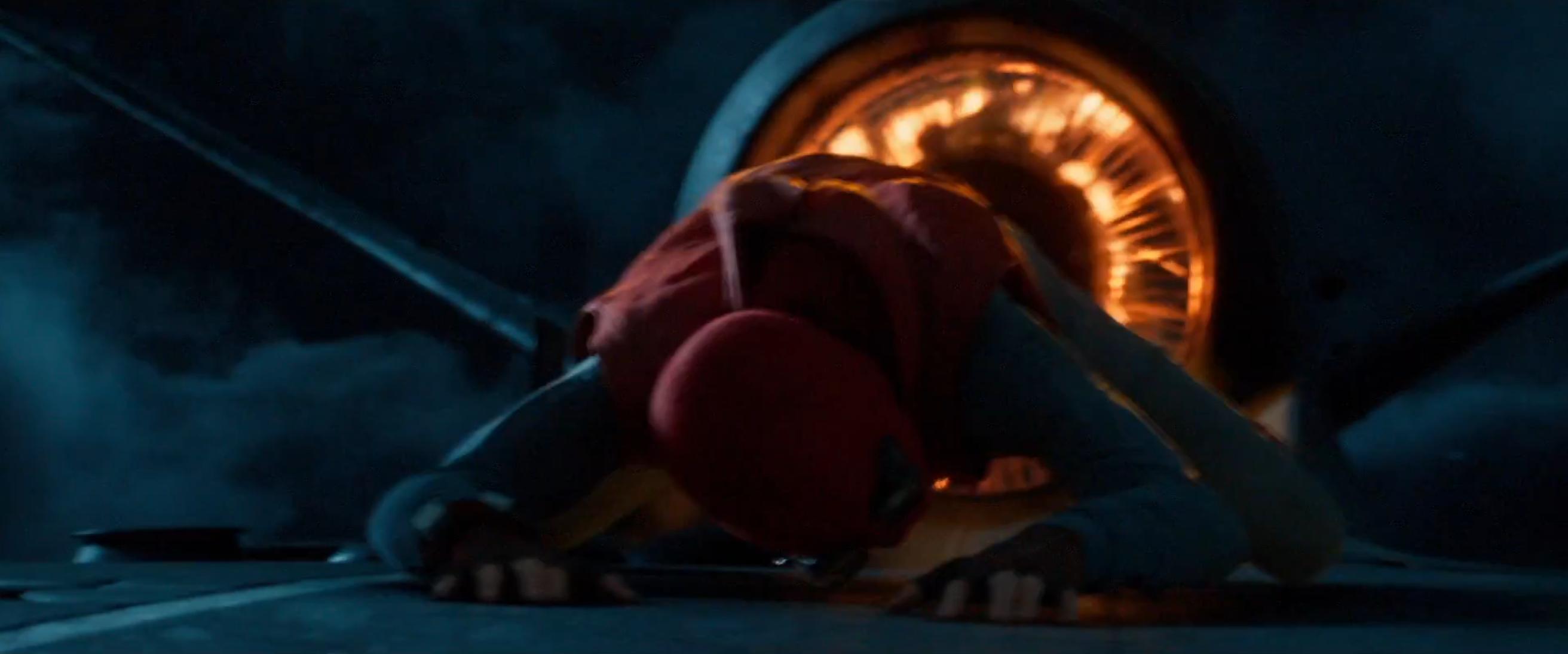 Spider-Man: Homecoming: Tom Holland in un momento del nuovo trailer del film