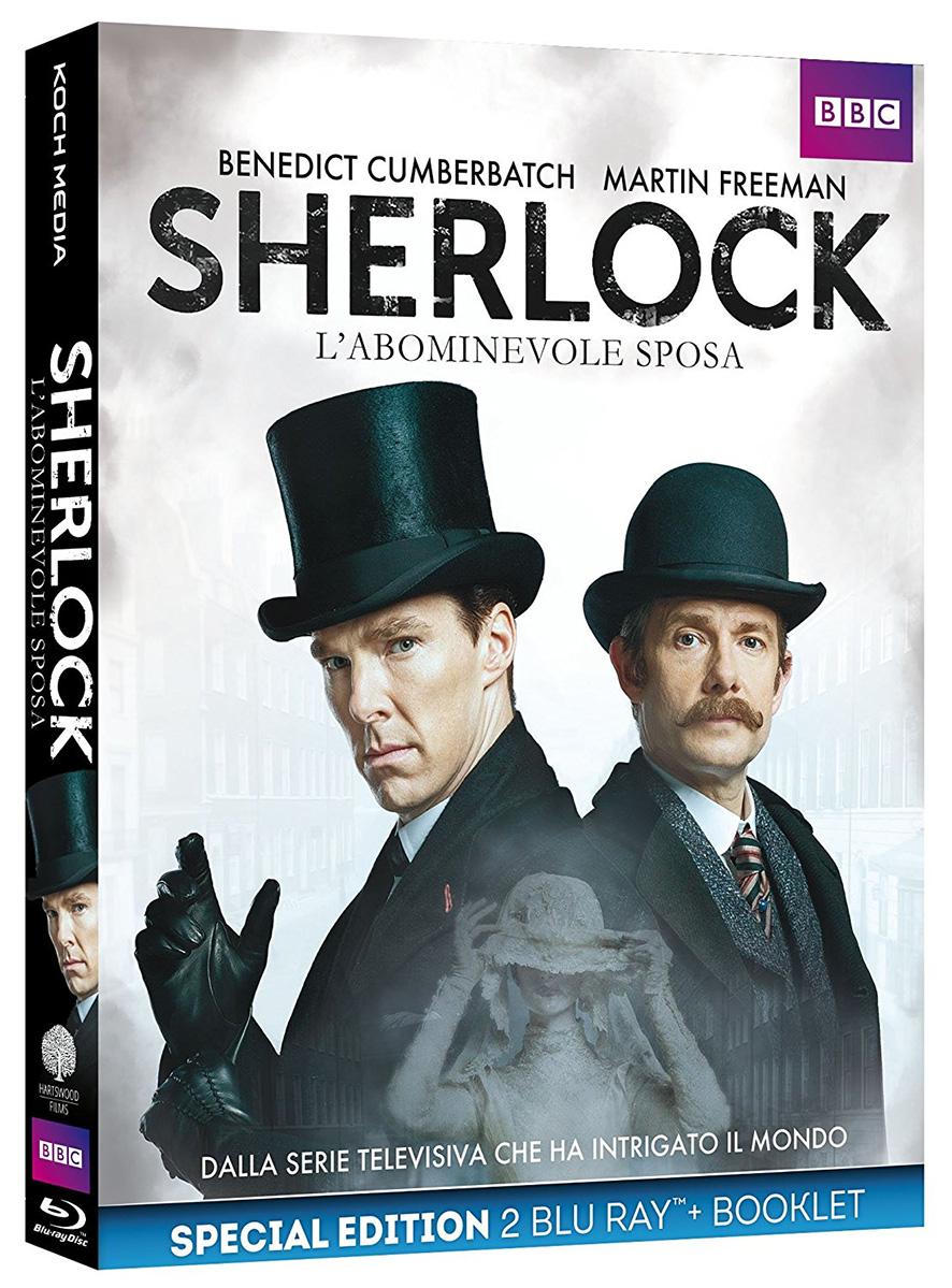 Il blu-ray di Sherlock - L'abominevole sposa