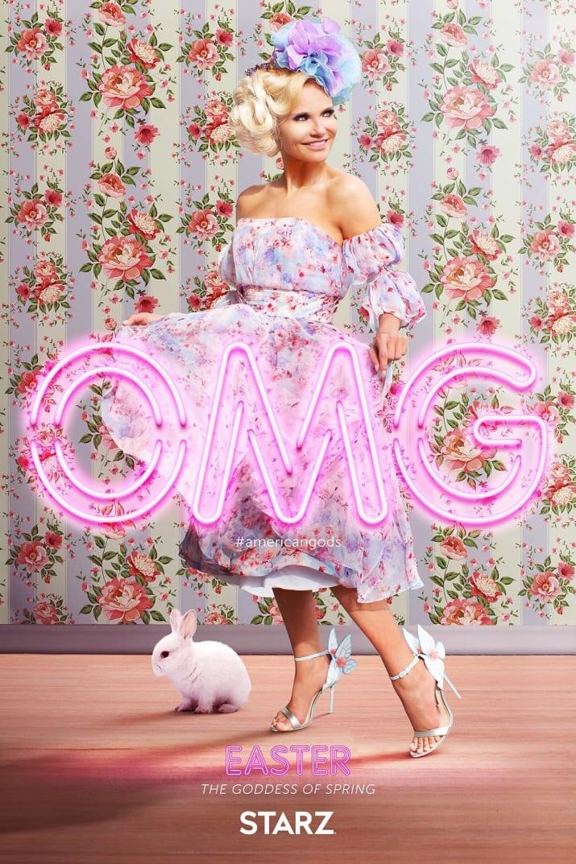 American Gods: il character poster di Easter, interpretata da Kristin Chenoweth